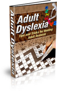 Product picture Adult Dyslexia - How to live with dyslexia